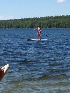 Chrissy paddleboard 2